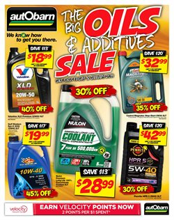 Offers from Autobarn in the Sydney NSW catalogue