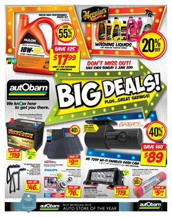Offers from Autobarn in the Brisbane QLD catalogue