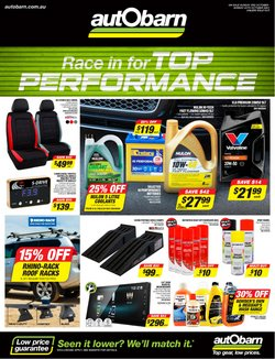 Cars, Motorcycles & Spares specials in the Autobarn catalogue ( 4 days left)