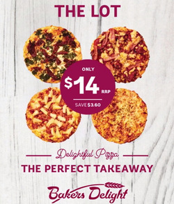 Offers from Bakers Delight in the Sydney NSW catalogue
