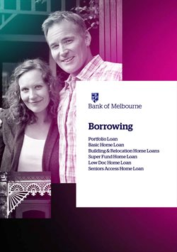 Offers from Bank of Melbourne in the Sydney NSW catalogue