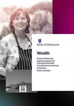 Banks offers in the Bank of Melbourne catalogue in Canberra ACT