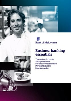 Offers from Bank of Melbourne in the Adelaide SA catalogue