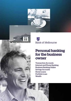 Offers from Bank of Melbourne in the Brisbane QLD catalogue