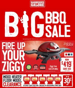 Barbeques Galore specials in the Barbeques Galore catalogue ( 2 days left)