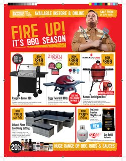 Barbeques Galore specials in the Barbeques Galore catalogue ( Expired)