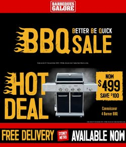 DIY & Garden specials in the Barbeques Galore catalogue ( 9 days left)