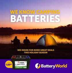 Offers from Battery World in the Sydney NSW catalogue