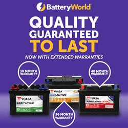 Battery World catalogue ( Expired )