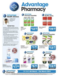 Offers from Advantage Pharmacy in the Melbourne VIC catalogue