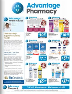 Advantage Pharmacy catalogue ( Expired )