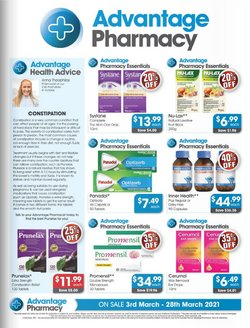 Advantage Pharmacy catalogue ( 1 day ago )