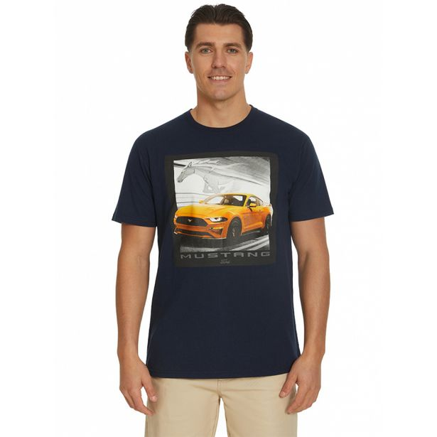 Ford Mustang Dusty Blue T-Shirt deal at $24.95