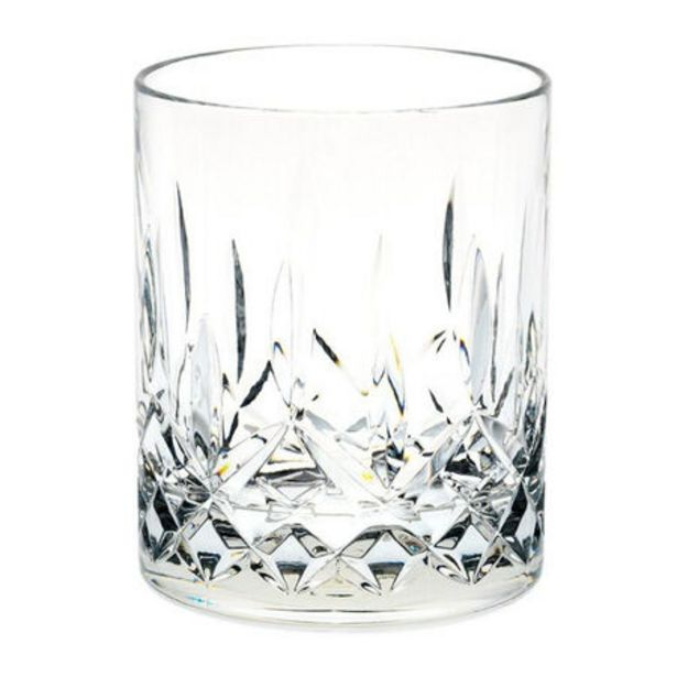 D-Still Unbreakable Polycarbonate Diamond Cut Old Fashion Glass 295ml - 4 Pack deal at $55