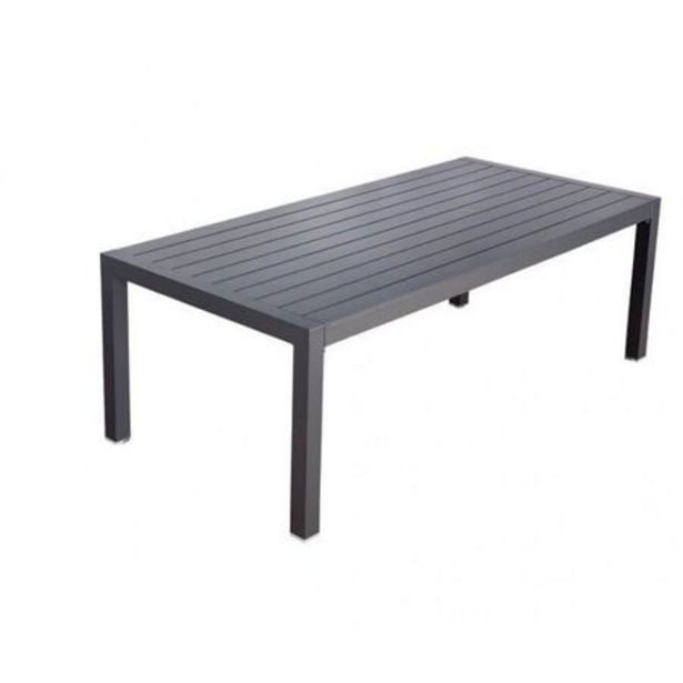 Gunmetal Grey Jette Dining Table (170x94cm) deal at $899