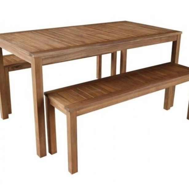 Elwood 3 Piece Bench Setting deal at $499