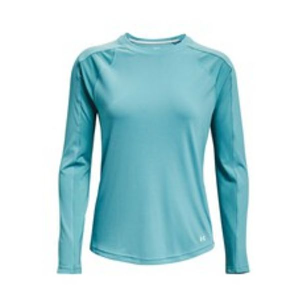 Under Armour Women's Isochill Shorebreak Camo Fill Long Sleeve Sublimated Shirt deal at $69.99