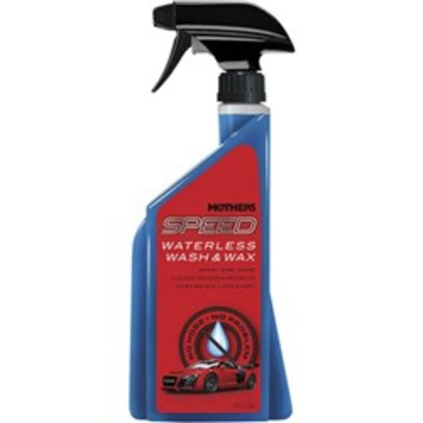 MOTHERS 6615644 SPEED WATERLESS WASH & WAX deal at $29.99
