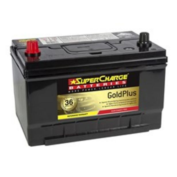 Supercharge Gold MF65 Maintenance Free American Passenger 600CCA deal at $249
