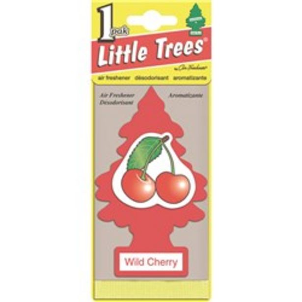 LITTLE TREES 10311 AIR FRESHENER WILD CHERRY deal at $3.75