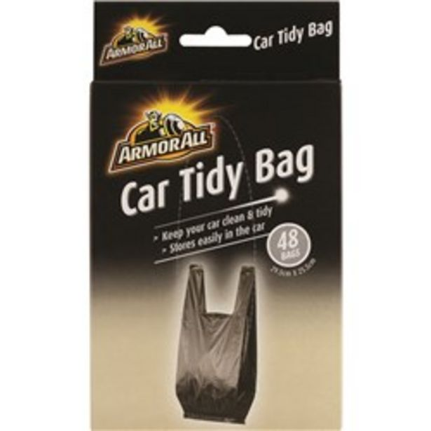 Armor All CAR TIDY BAG 48 Pack deal at $4.95