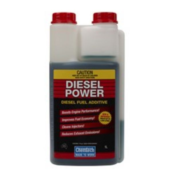 CHEMTECH CDP-1L DIESEL POWER FUEL ADDITIVE 1L deal at $39.95