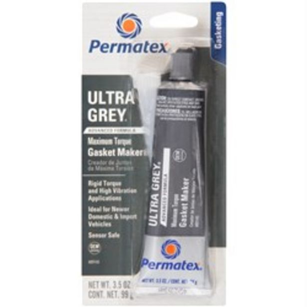PERMATEX PX89145 ULTRA GREY HIGH TORQUE RTV SILICONE GASKET MAKER 99G deal at $21.95