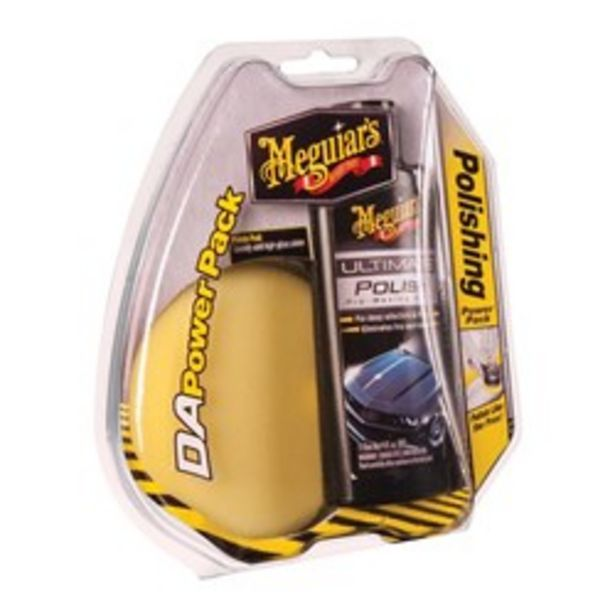 G3502INT Meguiars DUAL ACTION ULTIMATE POLISHING POWER PACK deal at $27.95