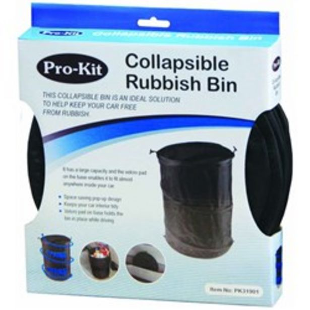 Collapsible Rubbish Bin deal at $8.95