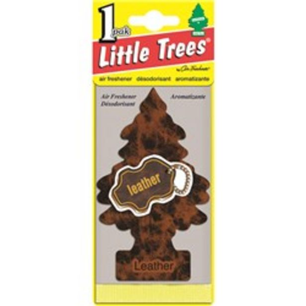 LITTLE TREES 10290 AIR FRESHENER LEATHER deal at $3.75