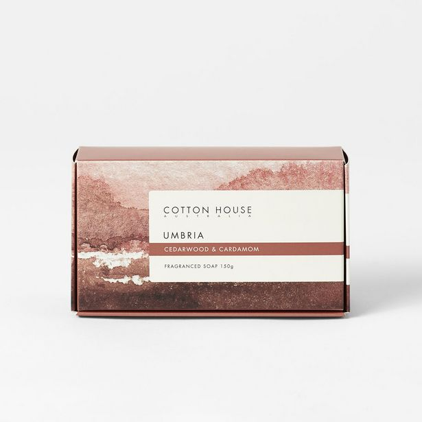 UMBRIA Boxed Soap deal at $4.95