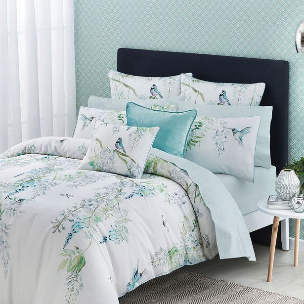 JAPANESE WISTERIA Quilt Cover deal at $129.95