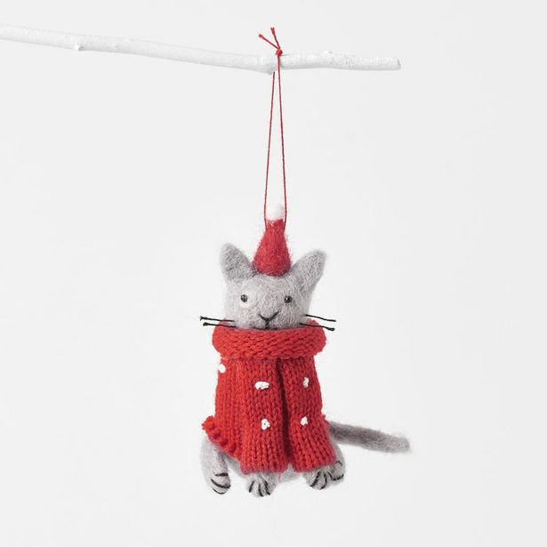 Handmade Cat in sweater Decoration deal at $6.99