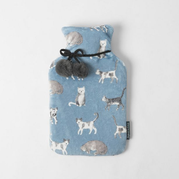 MISTY CATS Hot Water Bottle deal at $12.45