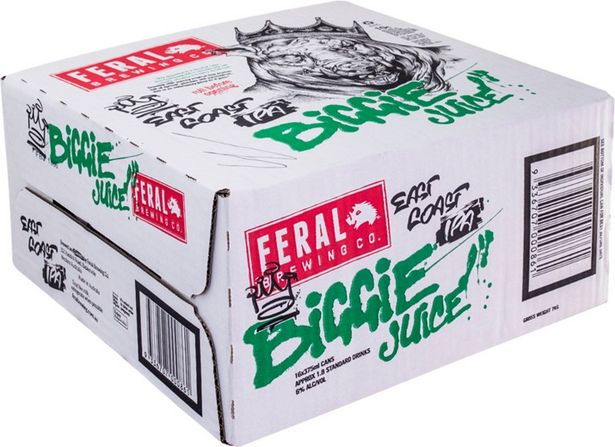 Feral Biggie Juice Can 375mL deal at $64.5