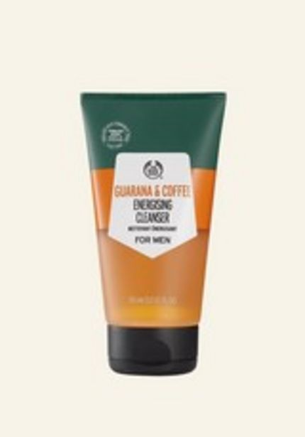 Guarana & Coffee Energising Cleanser for Men deal at $20