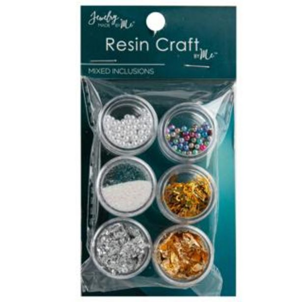 Jewelry Made by Me Resin Craft Mixers Glitter Balls Flakes deal at $8.99