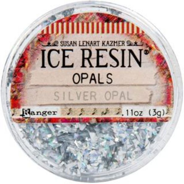 Ice Resin Opals - Silver deal at $9.59