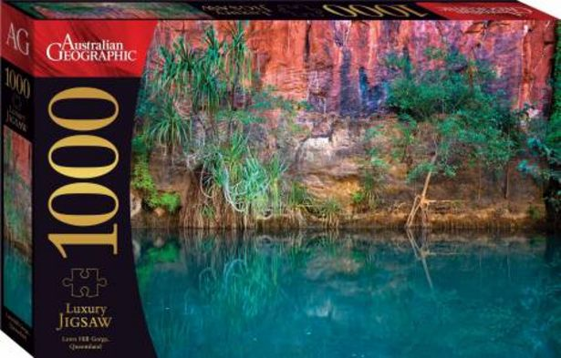 Australian Geographic 1000-Piece Jigsaw: Lawn Hill Gorge deal at $12.99