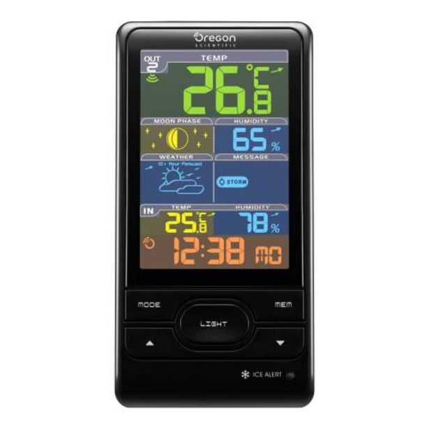 Oregon Scientific Color Screen Weather Station deal at $139.95
