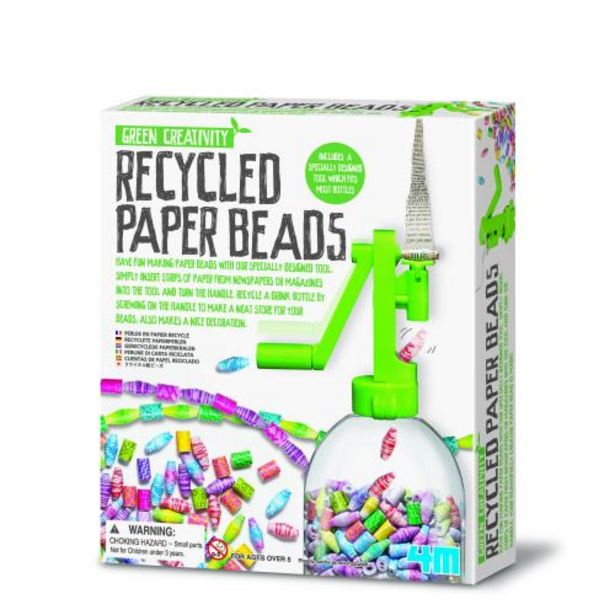 4M: Green Science: Recycled Paper Beads deal at $24.95
