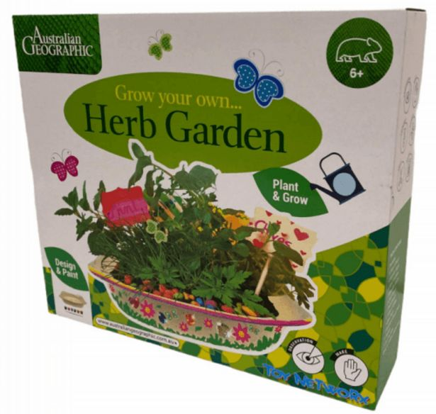 Australian Geographic: Grow your own Garden deal at $24.95