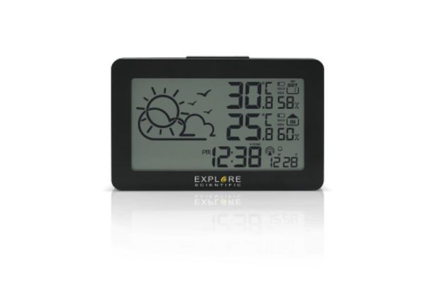 Explore Scientific Large Display Weather Station Temp/Humidity deal at $69.95
